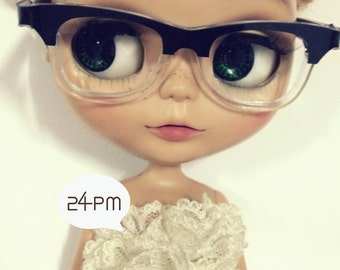 Super Rayban Nerd-glasses for blythe