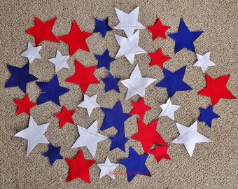 Traditional Felt Star Garland