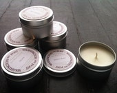 Handmade Soy Candle in a 6 oz. Tin