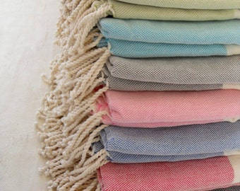 SALE %15 off, Turkish Towel, Peshtemal, Bath Towel, Beach Towel, Best Quality Turkish Towel, Pamper Yourself, Long Fringes
