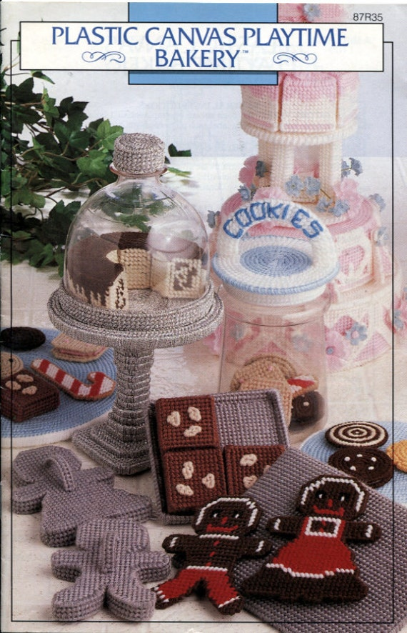 Plastic Canvas Playtime Bakery Annie S Attic 87r35