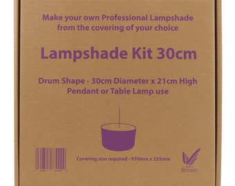 Lampshade Making Kit 30cm drum