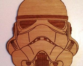 Star Wars Stormtrooper Wooden Fridge Magnet