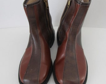 1960's, Boys, Good Year, Wingfoot, Deadstock, Two Tone Boots