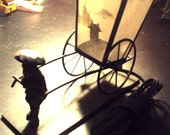 SALE UNIQUE Rickshaw Lamp Philippine Islands WWII Oriental Vintage