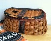 Vintage Fishing Creel - Basket