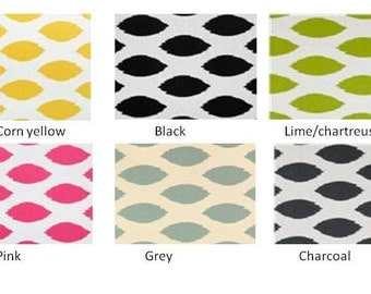 """Chipper pillow covers, choose your color(s) and size, toss, throw pillow, pillow case, decorative throw pillow 16x16 18x18 20X20 or 22x22"""""""