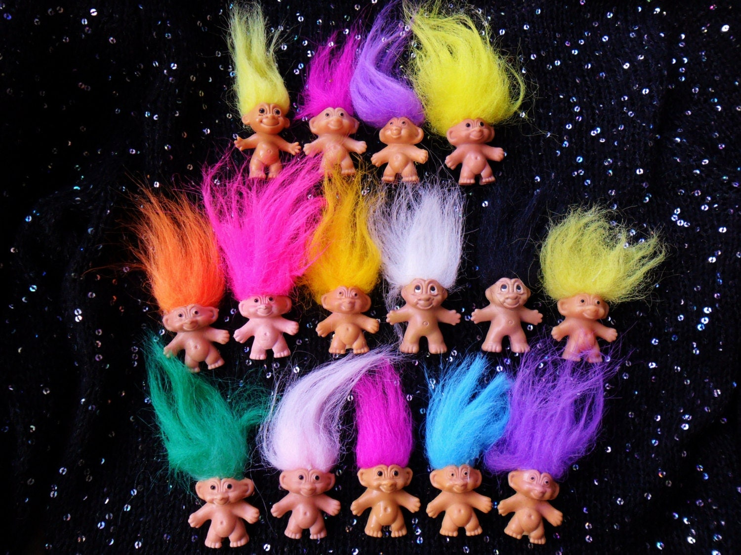 Toys From The 90s : Reserved vintage retro s troll doll collectible toy