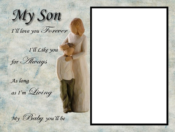 8x6 My Son Picture Frame