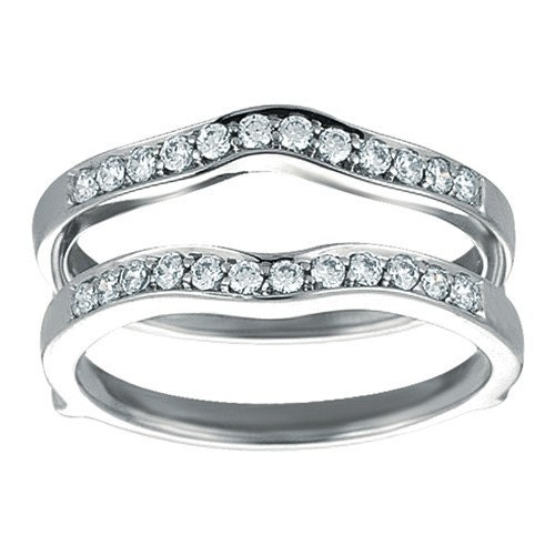 wedding ring guard classic wedding band ring guard sterling by twobirchjewelers 9957