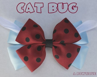 cat bug hair bow