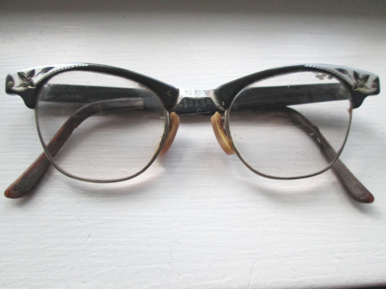 vintage cat eye by craft eyeglasses by vintagesoulrevival