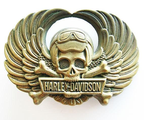 Vintage Harley Davidson Belt Buckles Vintage 70s Harley Davidson