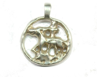 Sterling Silver Lamb of God Pendant