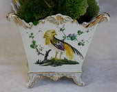 VINTAGE PORCELAIN French Style CACHEPOT