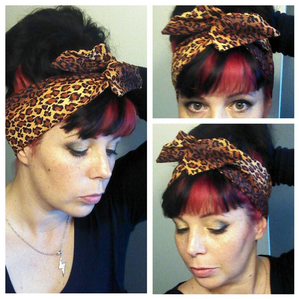 Rockabilly Bandana Hairstyles for Women