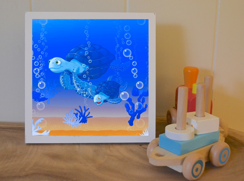Boy ocean theme nursery decor baby boy nursery nautical for Nursery ornaments and decorations