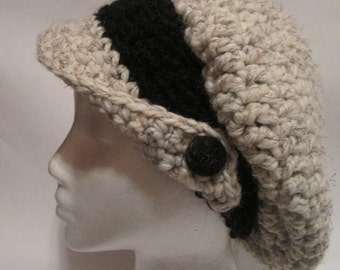 Slouchy Wing Brimmed Hat
