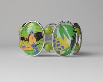 Rainforest Green Bracelet