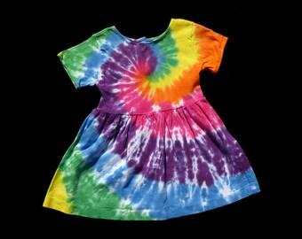 Girls Tie-Dye Dress- Size 2