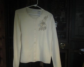 Womens Cardigan Sweater Size S