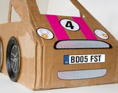 cardboard car sticker decals
