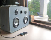 Suitcase Boombox- Built Balti