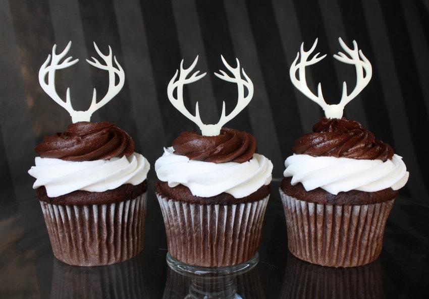 Deer Hunting Birthday Cake Toppers