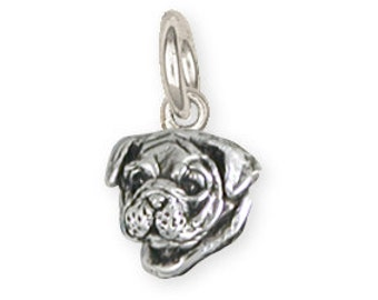 Solid Bulldog Charm Jewelry BD27H-C