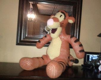 Stuffed Crochet Tigger from Winnie the Pooh
