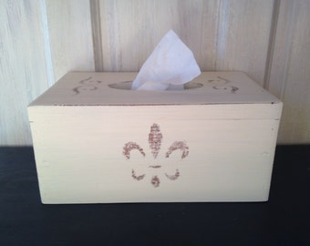 Wooden Tissue cover
