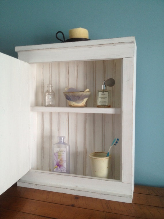 Distressed Medicine Cabinet
