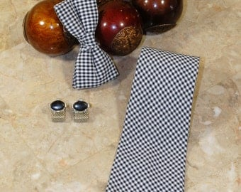 This listing is for the Gingham Print Tie