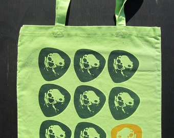 Fun Lime Green Frog Bag