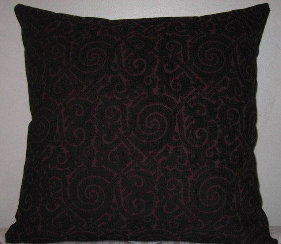 Items similar to Conemporary chenille decorative pillow cover-24