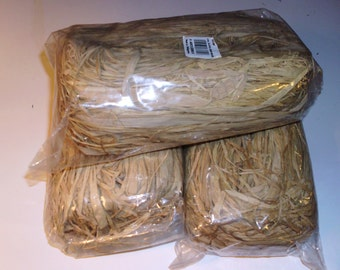 4 Oz. Bag Natural Raffia From Madagascar Craft Supplies