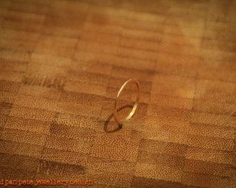 9ct Yellow Gold Thin Ring