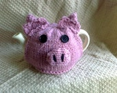 Handmade Fun Novelty Pig Tea Cosy