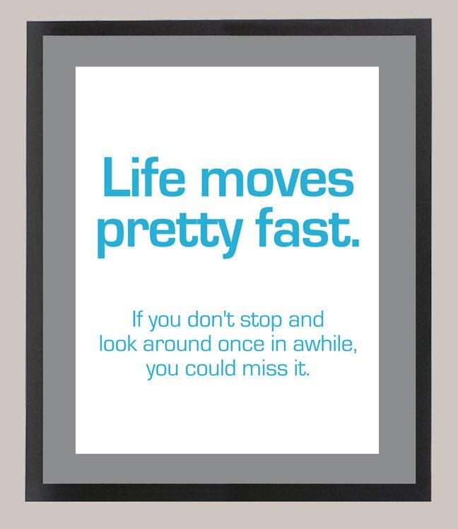 Life Moves Pretty Fast: Ferris Bueller's Day Off 'Life Moves Pretty Fast