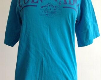 Vintage Blue Colarado Tshirt
