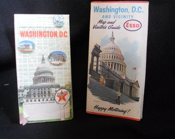 1960s Washington DC Maps