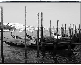 8 x 10 VENICE, ITALY black and white photography