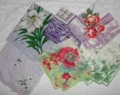 Vintage  handkerchiefs antique collectible hankies