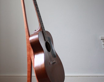 Sculptural Cherry Guitar Stand