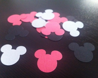 Mickey Mouse Confetti / Die Cut, set of 100