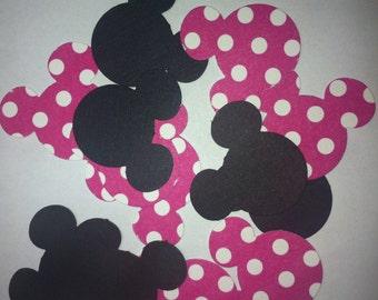 Minnie Mouse Confetti / Die Cut, set of 100