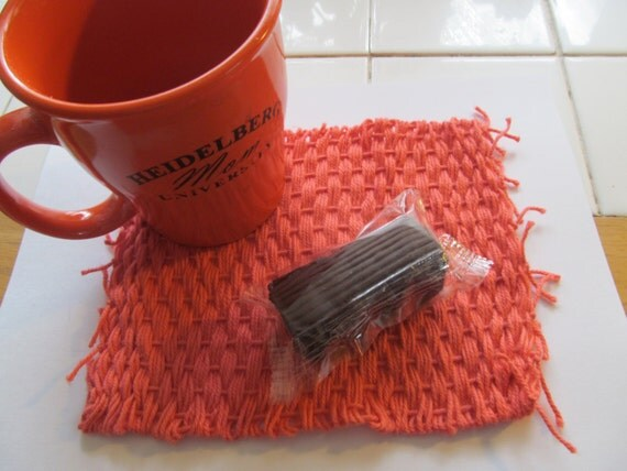Flamingo Mug Rug
