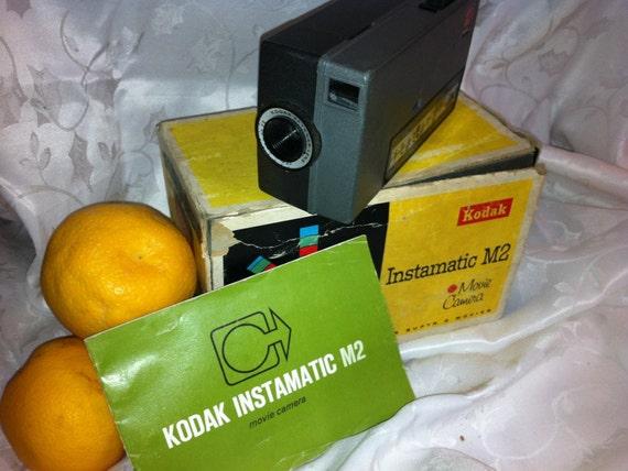 SALE Kodak Instamatic M2 8mm Movie Camera