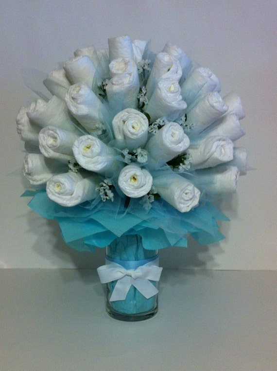 Items Similar To Pamper Me With A Diaper Bouquet On Etsy