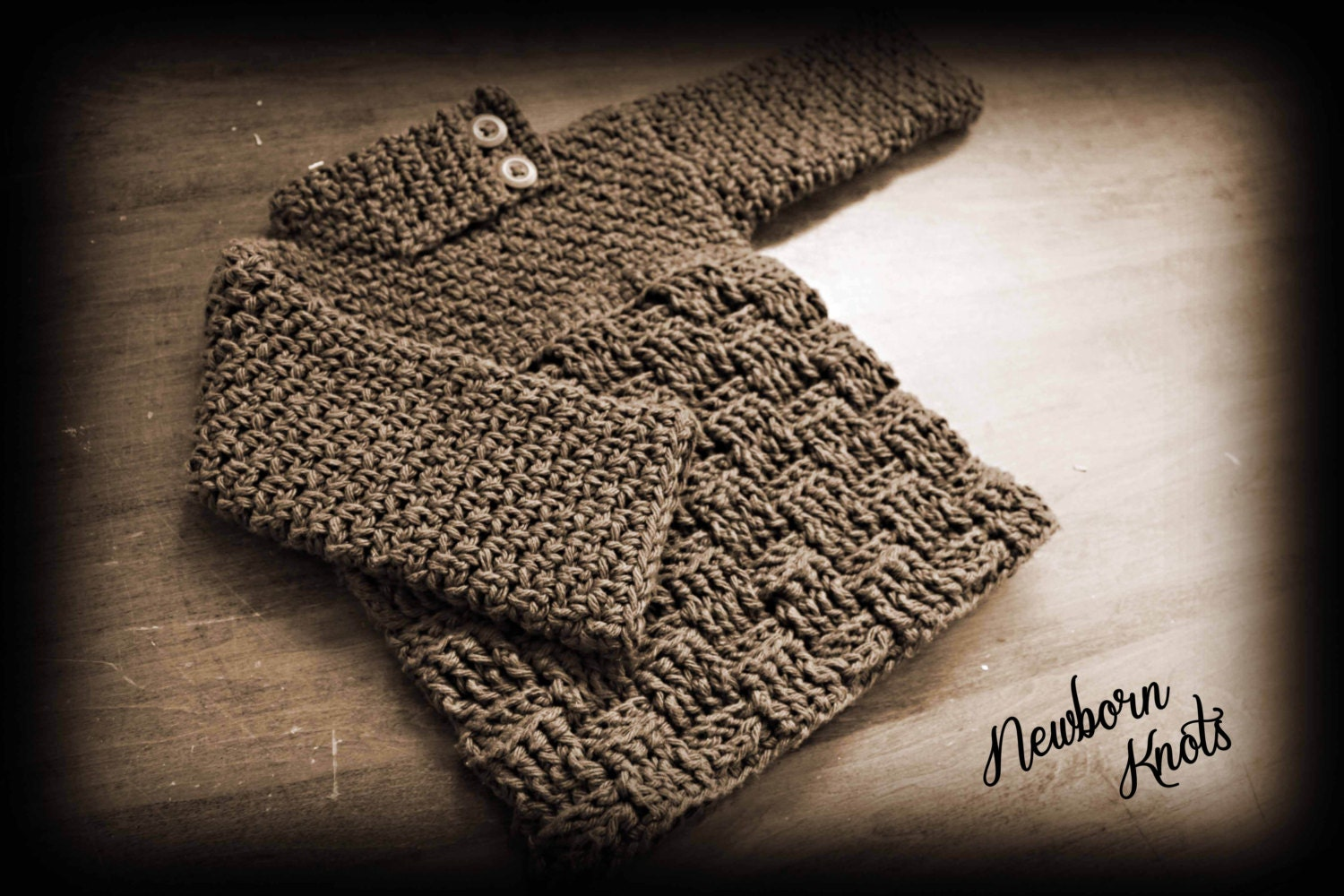 Crochet pattern for boys or girls baby sweater with basket weave crochet pattern for boys or girls baby sweater with basket weave pattern number 008 instant download bankloansurffo Choice Image